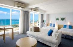 <7-9月出発>沖縄で最高層のリゾートホテル!レンタカー&朝食付!ザ・ビーチタワー沖縄2泊3日