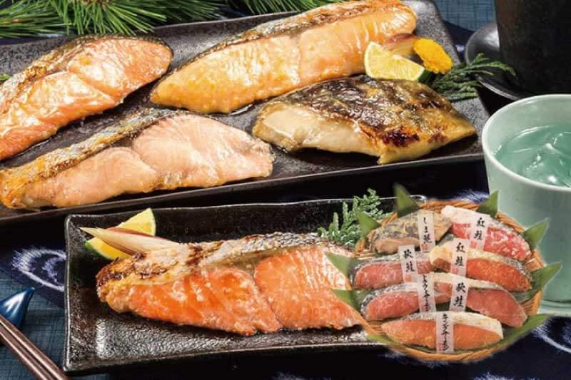 小樽海洋水産 漬け魚切身詰合せ